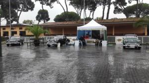 La piovosa giornata di sabato