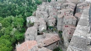 Il borgo medioevale di Sorano