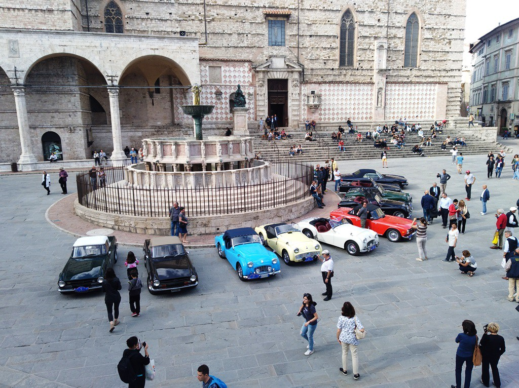Perugia: piazza IV Novembre