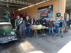 Ecco alcuni amici, da sx: Fabio, Andrea, Bruno, Giulio, Massimo, Flavia, Tonino, Alfio, Claudio e Stefano.
