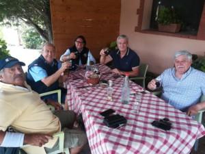 Sosta in un agriturismo a Lagonegro dopo 400 km