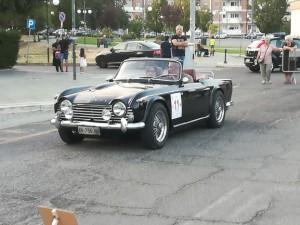 Maurizio, con la TR4A in gara a Rende.